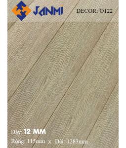 Sàn gỗ JANMI O122 12mm