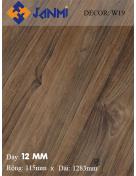 Sàn gỗ JANMI W19 12mm