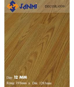 Sàn gỗ JANMI O39-12mm