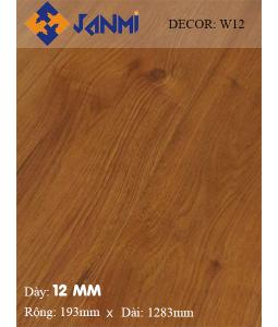 Sàn gỗ JANMI W12 12mm