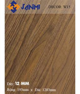 Sàn gỗ JANMI W15 12mm