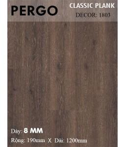 Sàn gỗ Pergo 1803