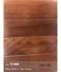 Sàn gỗ Dầu đỏ 750mm