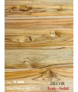 Sàn gỗ Teak 750mm