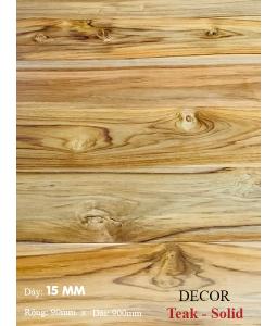 Sàn gỗ Teak 900mm