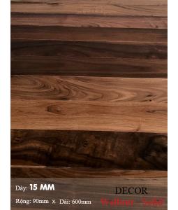 Sàn gỗ  Walnut ( solid ) 600mm