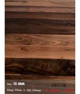 Sàn gỗ  Walnut ( solid ) 450mm