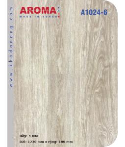 Sàn nhựa hèm khoá Aroma A1024-6