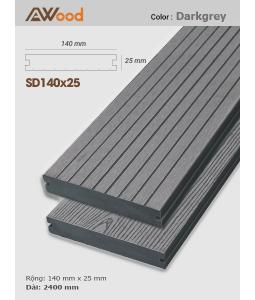 Sàn gỗ Awood SD140x25 Darkgrey
