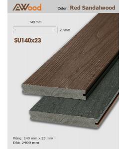 Sàn gỗ AWood SU140x23 Red sandalwood
