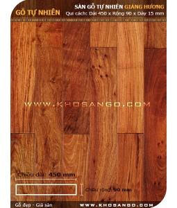 Sàn gỗ Giáng hương 450mm