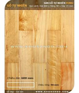 Sàn gỗ Pơmu 600mm