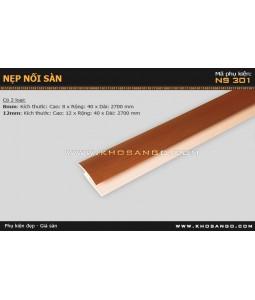 Nẹp nhựa nối sàn NS-301