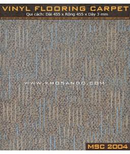 Sàn nhựa vân thảm MSC2004